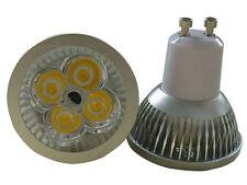 LAMPADA FARETTO GU10 POWER LED SPOT LUCE CALDA 4W GU 10 CASA UFFICIO VETRINE
