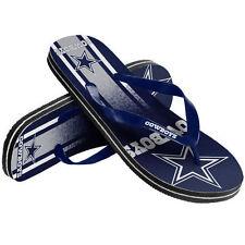 NFL Dallas Cowboys Unisex Gradient Thongs Flip Flops Sandals Football