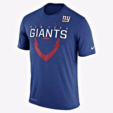 AUTHENTIC NIKE NFL DRI-FIT NY GIANTS BLUE T SHIRT 789088-495
