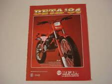 advertising Pubblicità 1984 MOTO BETA TR32 TR 32