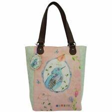 Santoro Eclectic 'Watercolour Birds' Large Zipped Shopper Bag