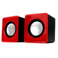 Mini Portable Usb 2.0 Wired Audio Jack Laptop Desktop Computer Stereo Speaker