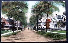 RICHMOND HILL LI NY 1910 Postcard BEACH STREET *UNPAVED
