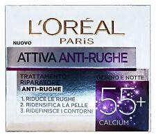 L'OREAL Attiva anti-rughe +55anni 50 ml. - cura del viso