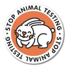 Stop Animal Testing Car Laptop Phone Vinyl Sticker  - SELECT SIZE