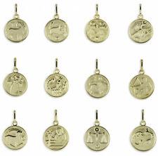 Sternzeichen Anhänger / Kette 333 Gold Schmuck Echt Goldschmuck Tierkreiszeichen