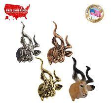 Lapel Pin or Magnet, M106 Creative Pewter Designs Kudu Antelope