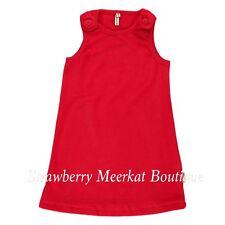 New Maxomorra Red Velour Velvet Dress 68 74 98 104 134 140