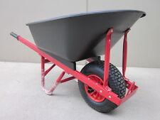 Wheel Barrow Plastic Poly Tray 100L large wheel 6.5 x 8.00 100KG NEW!!!