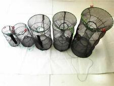 Us Foldable Fishing Trap Net Crab Prawn Shrimp Crayfish Lobster Live Bait Useful