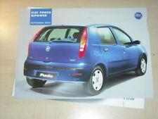 24228) Fiat Punto Bipower Prospekt 2003