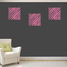 Sticker Design Zebre Zébrures 15x15 cm, unité ou lot personnalisé (ZEB001B)