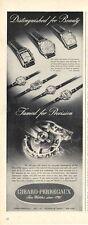 1942 Girard-Perregaux Men & Womens Watches  7 models PRINT AD