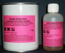 Kit de 1,2 kg de résine EPOXY spéciale MILIEUX HUMIDES.