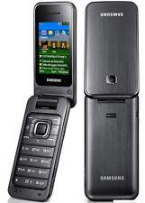 "Samsung C3560 Original Unlocked 2.2"" 2MP Bluetooth Stylish Flip Mobile Phone"