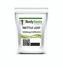 Ortie Racine 1000mg Capsules Bodygenix pour Urinaire Uts Santé Naturel