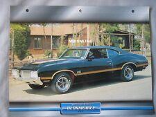 Oldsmobile 442 Dream Cars Card