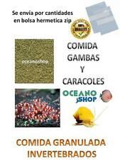 Comida Gambas caridinas neocaridina y caracoles de acuario gambario shrimps