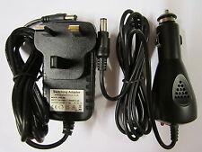 9 V Secteur AC Adaptateur + voiture ALIMENTATION Set Pour Vtech Storio 2 Baby