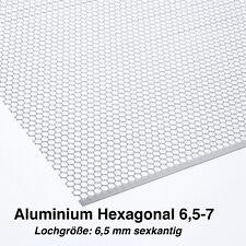 Lochblech Hexagonal 1,5mm (HV6,5-7) 500 mm x Ihre Wunschlänge KOSTENLOS VERSAND
