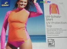 TCM Tchibo UV-Schutz-Shirt UPF 80 Tauchshirt Surfshirt Badeshirt Strand Damen X