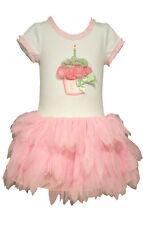 Bonnie Jean Girl Birthday Cupcake Party Pageant Tutu Mesh Dress 4 5 6 6X