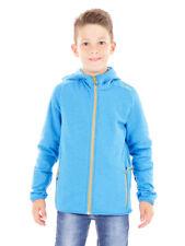 CMP giacca di pile felpa cardigan giacca funzionale Blau caldo comode