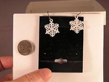 Snowflake Holiday Earrings