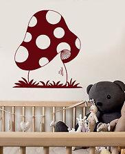 Vinyl Wall Decal Mushroom Forest Nursery Child Room Stickers (ig3810)