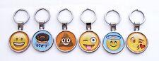 Boxer Emoji Fun Novelty Keyring Key ring Love Cheeky Poo Laughing Car Door House