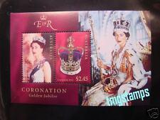 Australia 2003 Queen's Coronation Golden Jubilee SS MNH