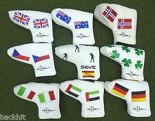 NUOVO-MD Golf Bandiera Nazionale Lama Putter Copricapo-Seve, Regno Unito, Irlanda, Germania