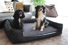 tierlando Nonplusultra Linus Lit orthopédique pour chien VISCO Plus similicuir