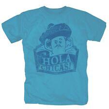 Hola Chicas Mexiko Spanisch T-Shirt S-XXL hellblau