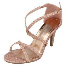 Ladies F1R0853 Glitter Sandals By Anne Michelle Retail Price £22.99