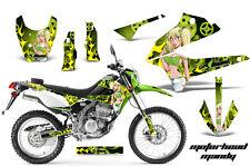 AMR RACING MOTOCROSS D TRACKER DIRT BIKE DECAL WRAP KAWASAKI KLX 250 08-12 MMG