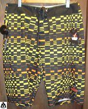 Costume da bagno uomo MATIX Ninja Optic gold bermuda shorts pantaloncino corto