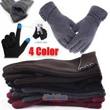 Women Touch Screen Winter Gloves Warm Soft Fleece Causal Gloves Windproof 2018