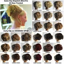 À Clipser Chignon/ Updo Résistante à la Chaleur Supérieur Cheveux Synthétiques (