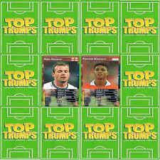 TOP TRUMPS (WM) European Football Stars – VARIOUS