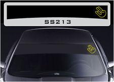 JDM Shocker sunstrip sticker decal SS213