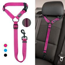 """Nylon Dog Pet Safety Seatbelt for Car Seat Belt Adjustable Harness Lead 17-30"""""""