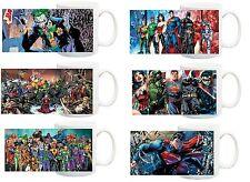 DC Comics Mug,Personalised DC Comics Mug, DC Comic Characters Mug and boxes
