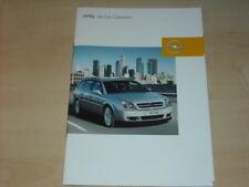 31340) Opel Vectra Caravan Zubehör Prospekt 2003