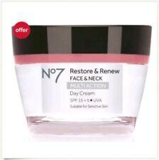 No7 Restore & Renew FACE & NECK MULTI ACTION Day & Nigh Cream 50ml