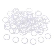 100pcs Metal Lingerie Bra Strap Sliders Adjuster O Ring for Garter Bikini Bra