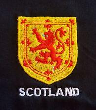 León Rampante de diseño de protector Bordado en una camiseta Escocia Scottish escoceses