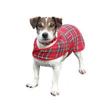 Neuf écossais Réglable Tartan Dog Coat-Royal Stewart-Small Medium ou Large