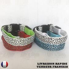 Collier lumineux à LED motif léopard pour chien NEUF