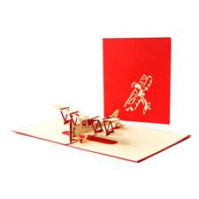 Aircraft Plane Aeroplane Popup Pop Up Greeting 3D Card Gift Birthday Anniversary